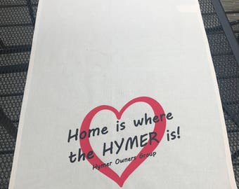 Hymer Owners Group - Tea Towel