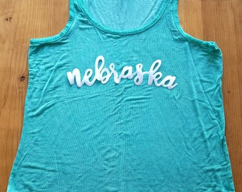 Appliqué State Name Tees - Customizable for your state!