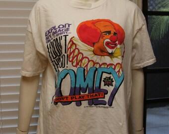 HOMEY d the Clown T-Shirt Vintage 1990 Tee Size XL Men by In Living Color TV Show 90s Fashion Homie Damon Wayans