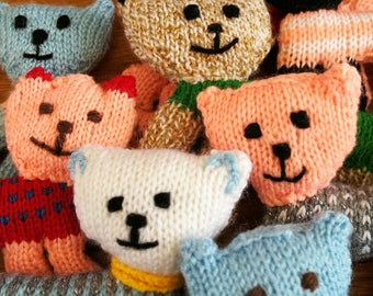 Half Price SALE - Lucky Knitted Flat Cats
