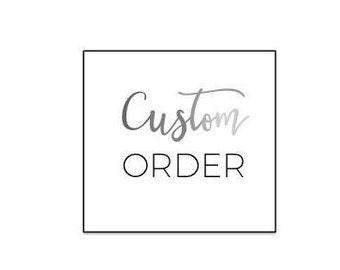 Custom Shirt Order for Sarah N.