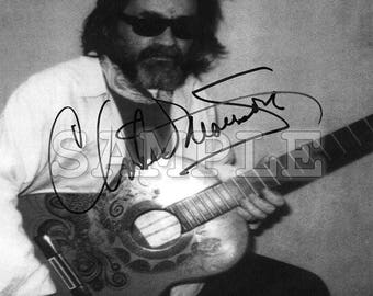 Charles Manson signed 8x10 Autograph RP - Gift Idea Ready to Frame and Display photo picture
