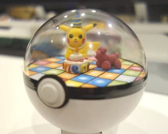 Pokemon Terrarium / Diorama / Paradise Pokeballs! - Customize Your Own!