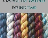 Game of minis round 2 Oxley base 10g mini set fingering weight