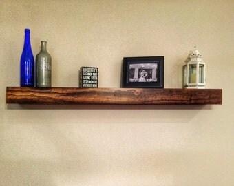 Floating Shelf / Floating Shelves / Rustic Floating Shelf / Ledge Shelf / Farmhouse Decor