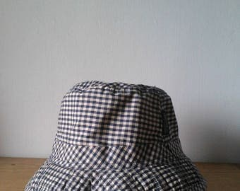 United Colors Of Benetton Gingham Bucket Hat