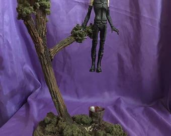 Awakening diorama/model