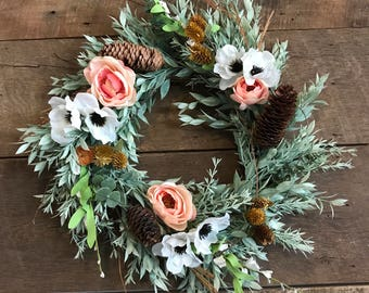 Pinecones, Poppies & Roses, Oh My!