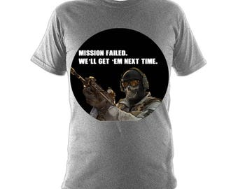 Mission Failed | Call of Duty Modern Warfare 2 Shirt