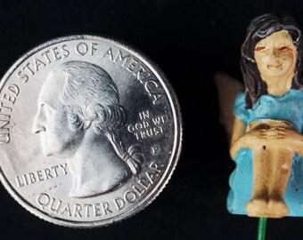 Itty Bitty Fairy Bailee: miniature garden, fairy garden, fairy garden accessories, fairy, miniature