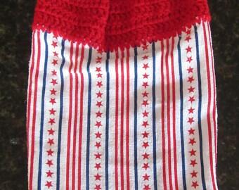 Crochet dish towels