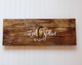 Wood Wedding Guest Book Sign/Reclaimed Pallet Wood/Alternative Guest Book/Wood Welcome Sign/Rustic Wedding Decor/Bridal Shower Gift/Custom
