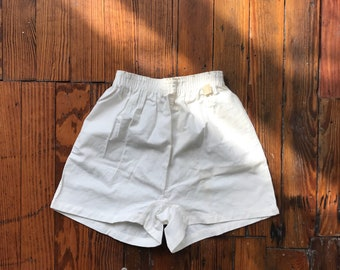 1950's Small Sanforized Gym Shorts by West Point Pepperell