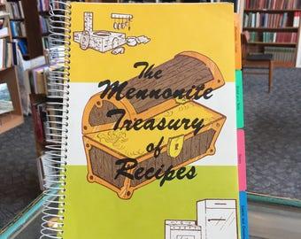 1962, The Mennonite Treasury of Recipes Cookbook
