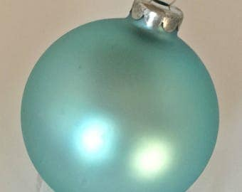 Vision Teal colored Ornaments