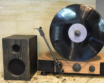 Ebony Bookshelf Speakers