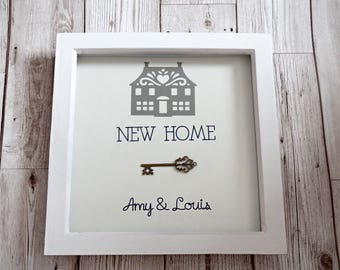 Personalised New home gift - Housewarming gift - Framed gift