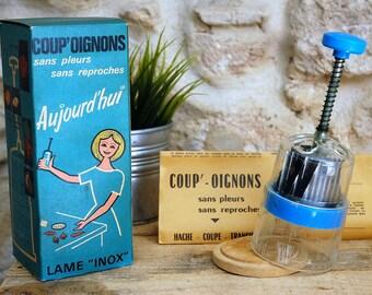 Cut onions vintage 60's