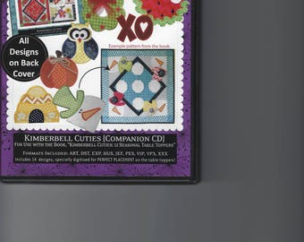 """Kimberbell Cuties Applique Companion CD for the book """"12 Seasonal Table Toppers"""""""