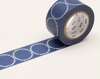 mt x Minä Perhonen - tambourine petit・navy < MTMINA21 > - Washi Tape  | masking tape | planner accessories | japanese stationery