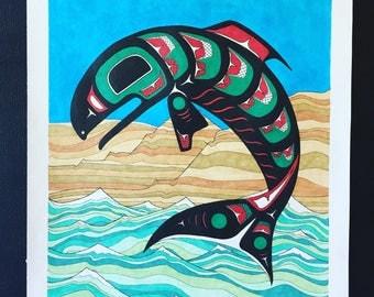 Nch'i-Wana (Print)