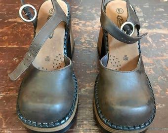 Vintage 90s Lower East Side Chunky Heels