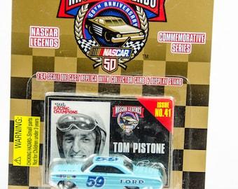 Racing Champions Nascar Legends Tom Pistone Ford 1/64 Diecast Car