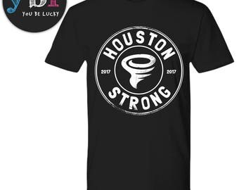 Houston Strong Shirt, houston strong tee, houston strong t-shirt, irma, harvey, pray for houston, hell or high water, i survived