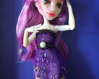 OOAK Monster High Doll Ari Hauntington Repaint