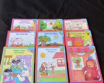 Early World of Learning Books Educational Homeschool Board Books Lot of 9 Great Quality Worldbook