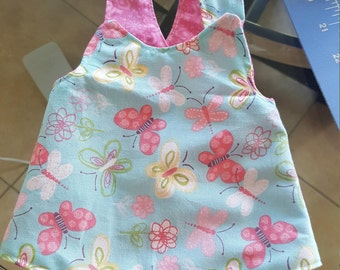 Preemie criss cross dress