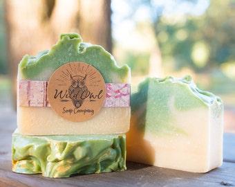 Winter Pear, Christmas Soap, Natural Handmade Soap Christmas
