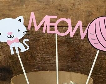 Kitty Birthday Cake Toppers/Cat/Kitten
