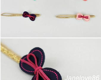 Lovely Bow 4 Colors Baby Girls Headbands Baby Girl Accessories