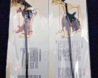 Shadow Puppet Bookmark / Wayang Kulit Bookmark