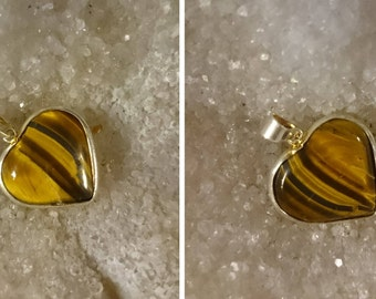 Tiger's eye 3.88 8 Gr at 12.52 Gr-charm
