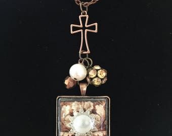 Pearl of Great Price - Inspirational Necklace