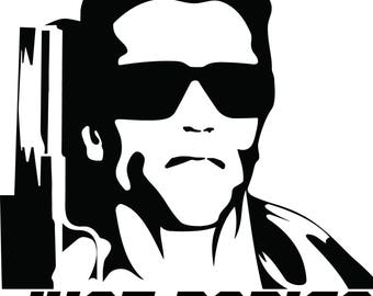Commando Just Bodies Decal