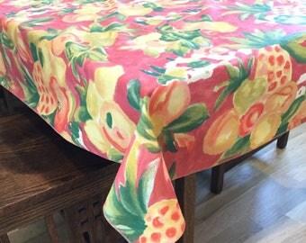 60 X 102 Tablecloth | Etsy
