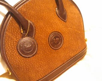 Genuine Argentinian Capybara / Carpincho Leather Handbag