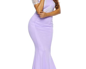Satin Formal Gown 50526