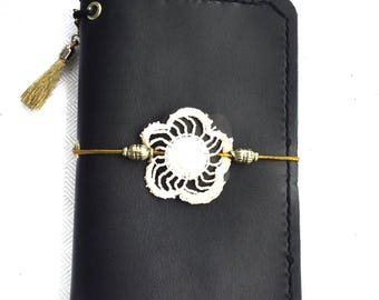 MonDori Leather Fieldnotes * tn * Fauxdori * Genuine Leather
