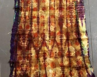 Ecoprint, felt, wall/living dressing. Felt, wallhanging