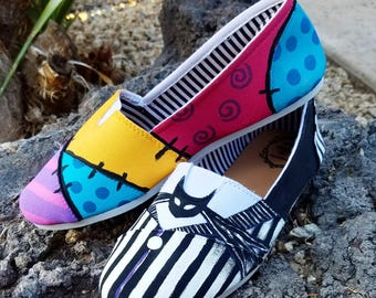 CUSTOM PAINTED SHOES, Any design!