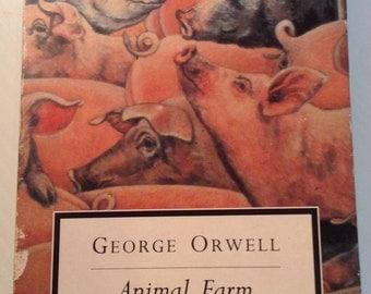 George Orwell Animal Farm Audio Book Unabridged 2 Cassette Set 1995