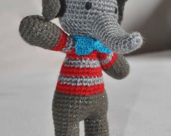 Elephant / crochet / toy