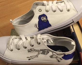 Skeleton Dog Shoes