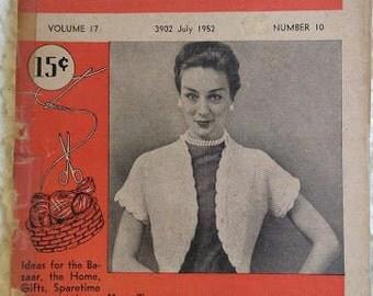 14 Old Crafting Rugyarn Begin To Knit WorkBasket