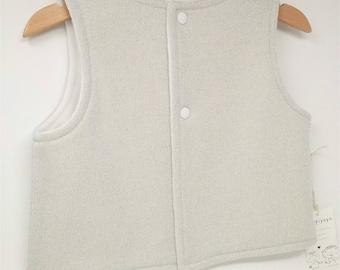 Vest, girl vest, size 2 years