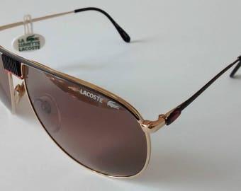 Vintage Lacoste 191 L 215 Sunglasses